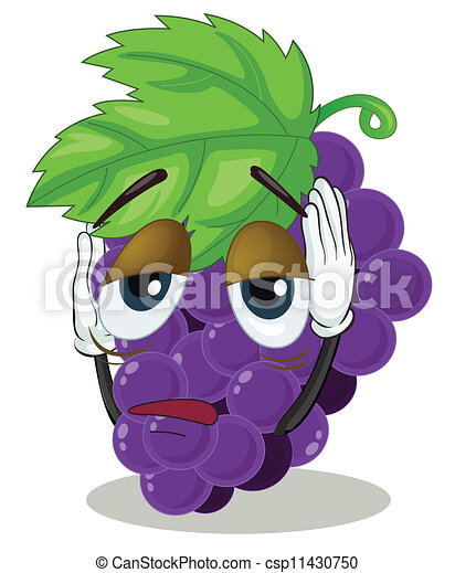 Bunch of grapes - csp11430750