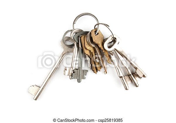 Bunch of keys - csp25819385