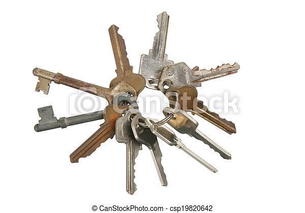 Bunch of Keys - csp19820642