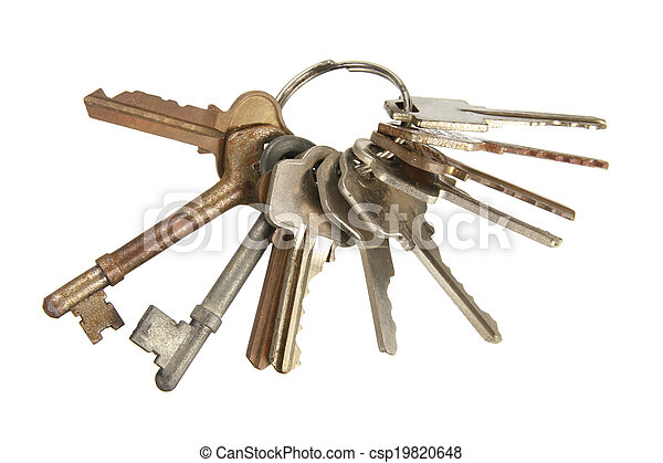 Bunch of Keys - csp19820648