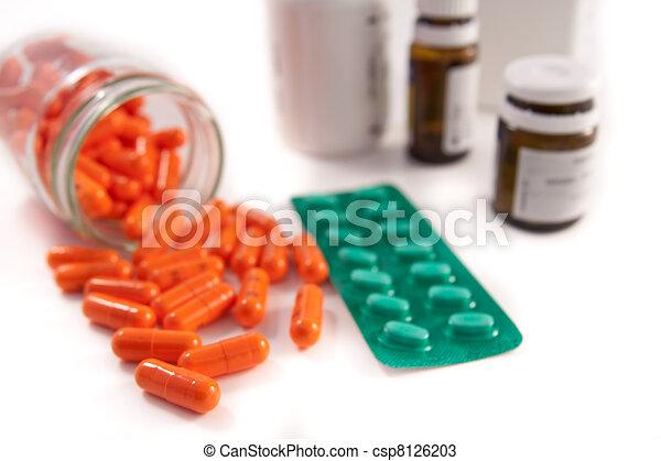 bunch of pills - csp8126203