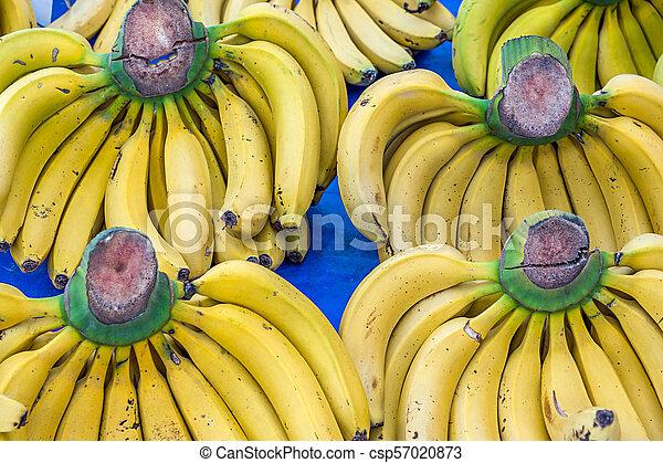 Bunch Of Ripe Bananas At A Street Market, Turkey - csp57020873