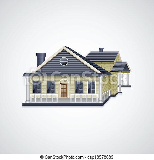 Bungalow House - csp18578683