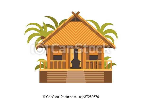 Bungalow House - csp37253676