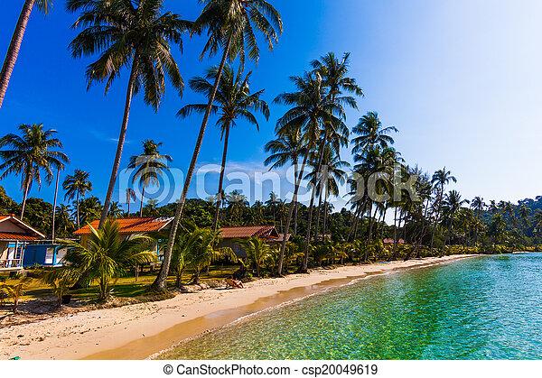 bungalows. Thailand - csp20049619