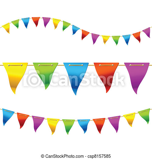 Bunting flags - csp8157585