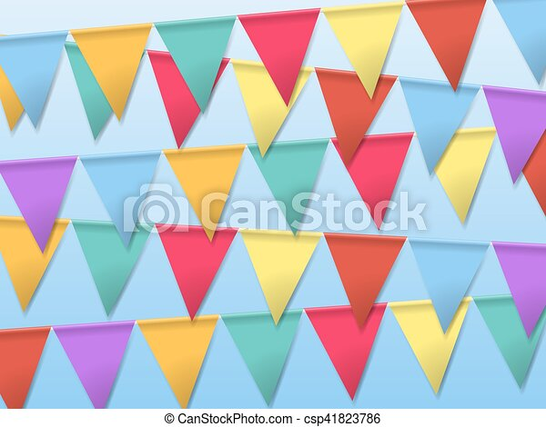 Bunting flags for holidays template for poster bunting flags for holidays csp41823786 maxwellsz