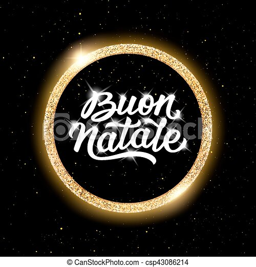 Buon natale lettering merry christmas in italian merry christmas merry christmas in italian csp43086214 m4hsunfo