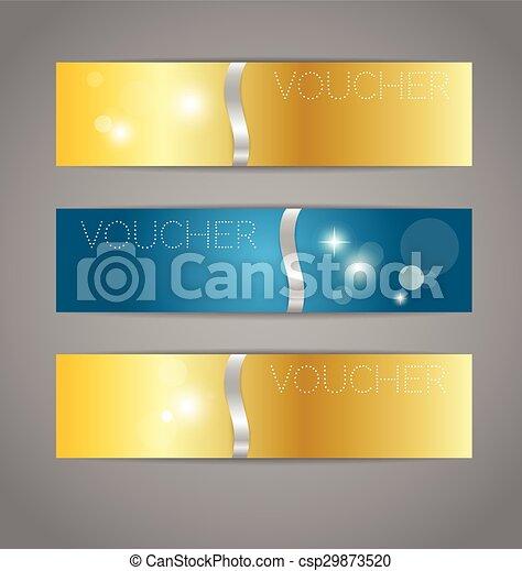 buono, stile, etichette, fine, illustration., set, prezzo, moderno, vendita, voucher., risparmi, vettore, disegno, sagoma, anno, etichetta - csp29873520