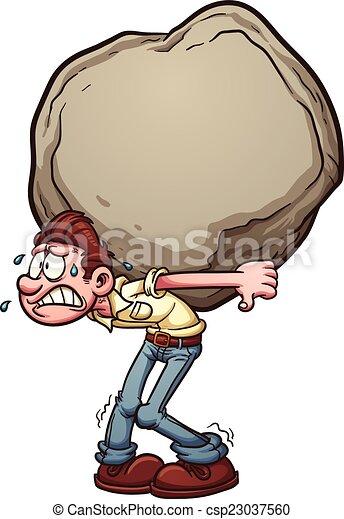 burden pesado - csp23037560