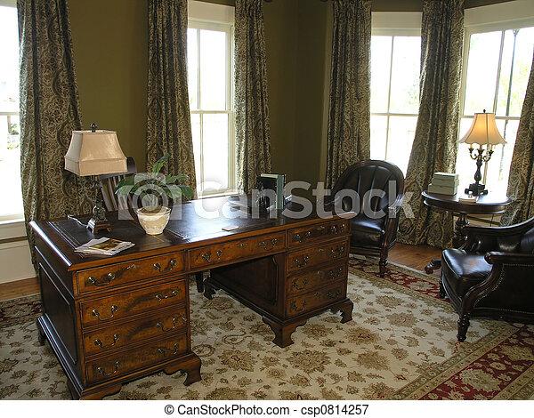 bureau, -, 1, 5, maison luxe - csp0814257