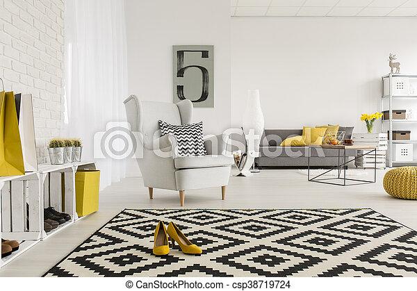 Bureau après repos endroit agréable morceau jour salle de