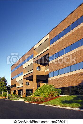 bureau, bâtiment moderne - csp7350411