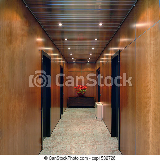 bureau, couloir - csp1532728