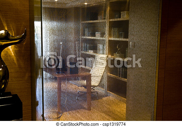 Bureau maison bureau très moderne regarder joli maison