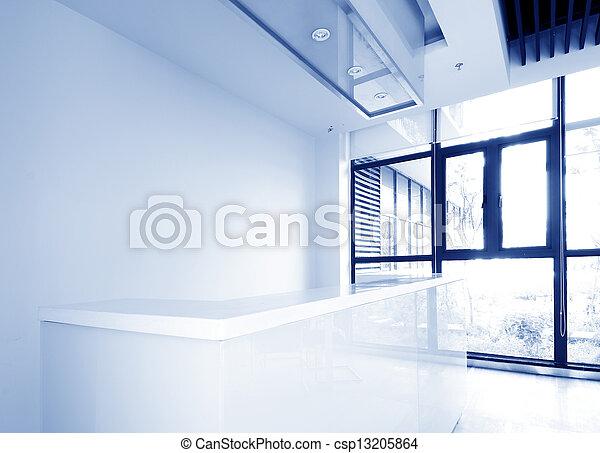 bureau, secteur réception - csp13205864