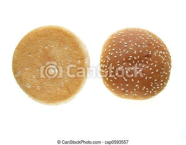 burger bun  - csp0593557