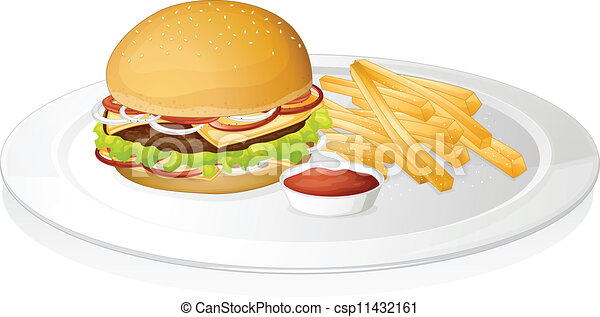 Fries Clipart Burger 15 Clip Arts For Free Download, HD Png Download ,  Transparent Png Image - PNGitem