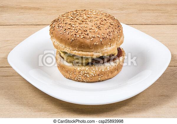 Burger - csp25893998