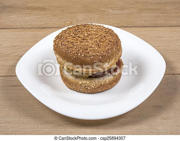 Burger - csp25894307