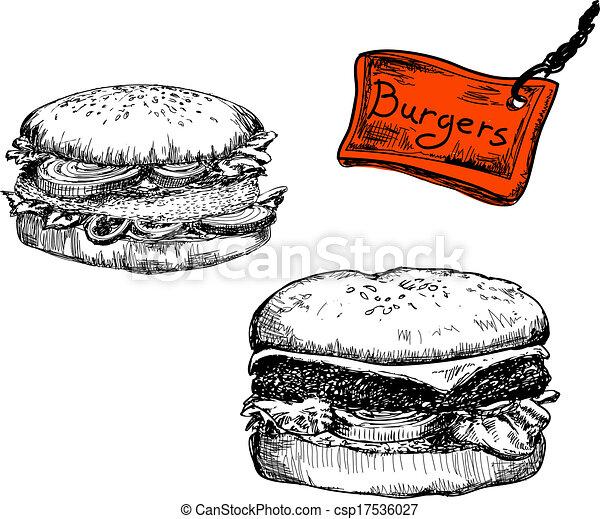 Burgers - csp17536027