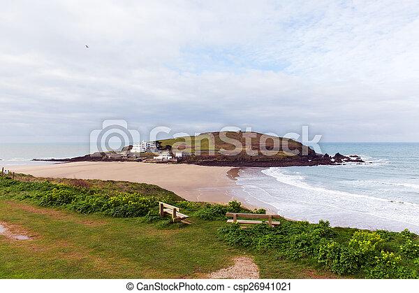 Burgh Island South Devon England UK - csp26941021