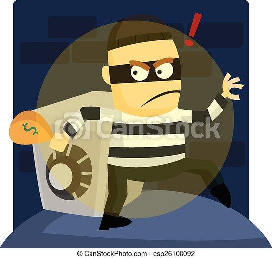 Burglar - csp26108092