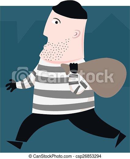 Burglar - csp26853294