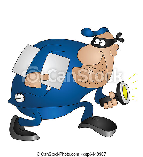 burglar - csp6448307