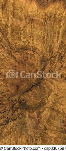 burl wood background - csp8307597