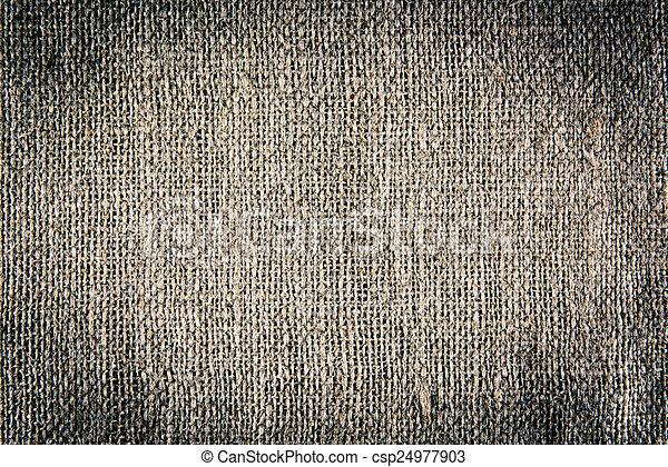burlap, fond, texture - csp24977903