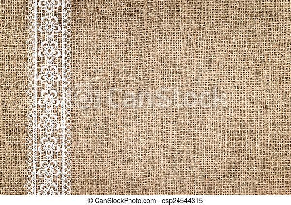 burlap, texture - csp24544315