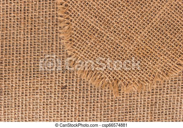 burlap, texture - csp66574881