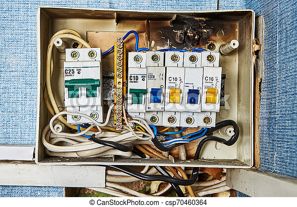 home fuse box wiring burned out old home fuse box parts safety switch problems  old  burned out old home fuse box parts