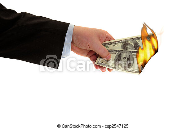 burning money - csp2547125
