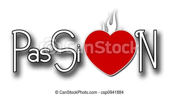 Burning Passion - csp0941884