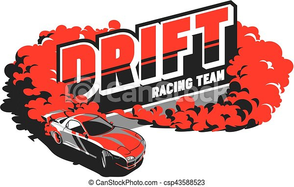 Burnout car, Japanese drift sport, Street racing - csp43588523