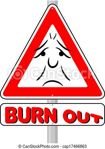 burnout warning sign - csp17466863