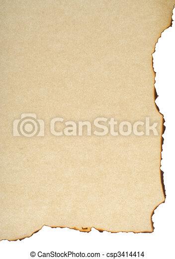 burnt paper - csp3414414