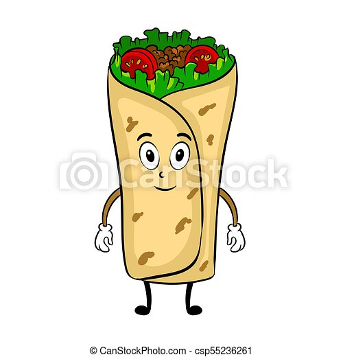 burrito cartoon pop art vector illustration burrito cartoon clip rh canstockphoto co uk burrito clipart free burrito clipart