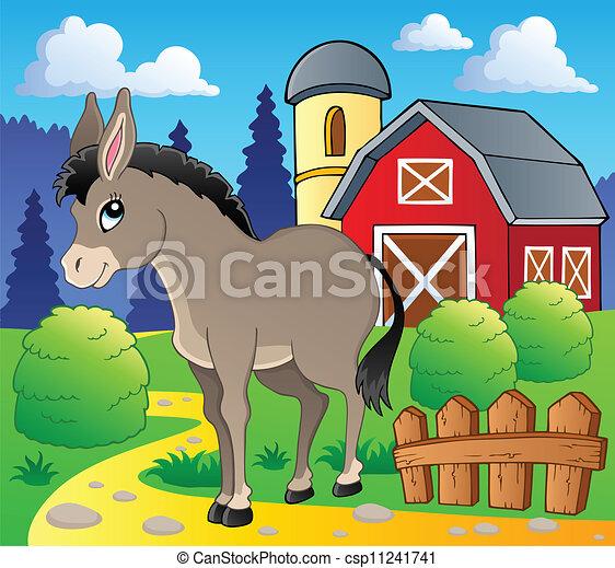 burro 2, tema, imagem - csp11241741