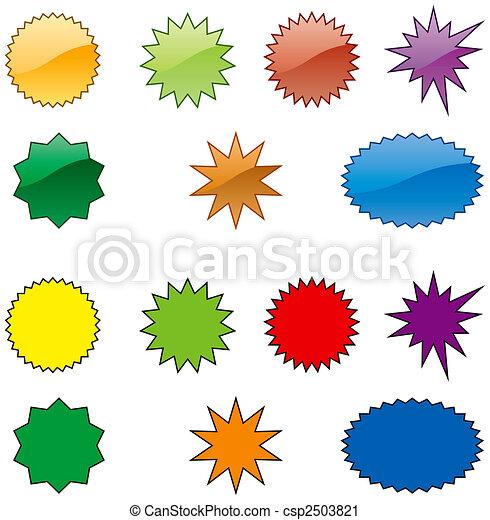 bursts-color - csp2503821