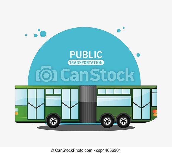bus city vehicle public transport - csp44656301