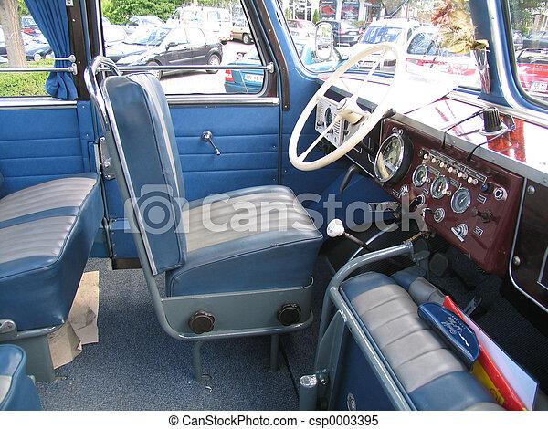 Bus drivers seat - csp0003395