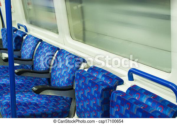 Bus Interior at public transport.  - csp17100654