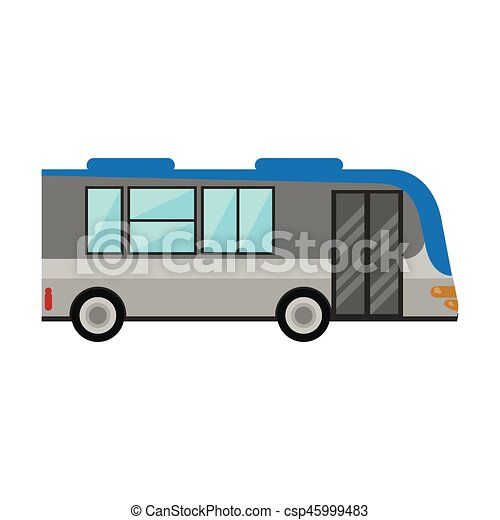 bus public transport vehicle - csp45999483