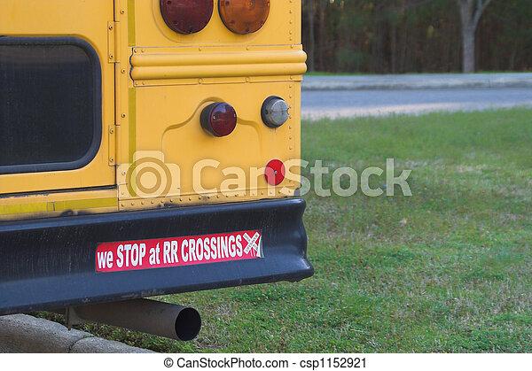 Schulbussicherheit - csp1152921