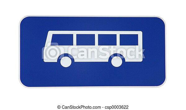 Bus Sign - csp0003622