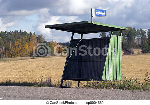Bus stop - csp0004662