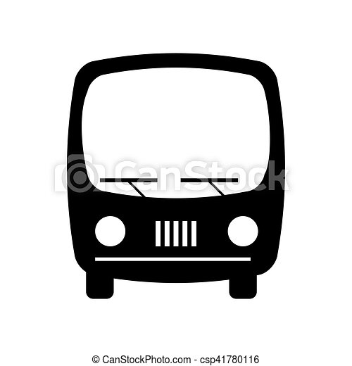 bus transport silhouette icon vector illustration design vector clip rh canstockphoto co uk  free vw bus vector clip art